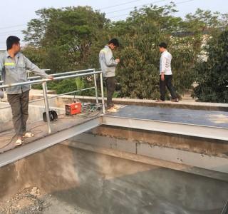 Công trình cải tạo và lắp đặt thiết bị cho hệ thống xử lý nước thải KCN Hoằng Hoá