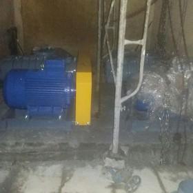 Cung cấp lắp đặt máy thổi khí công suất 30KW KCN Hoằng Hoá – Thánh Hoá