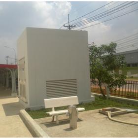 Công trình xử lý nước thải sinh hoạt chung cư Screc