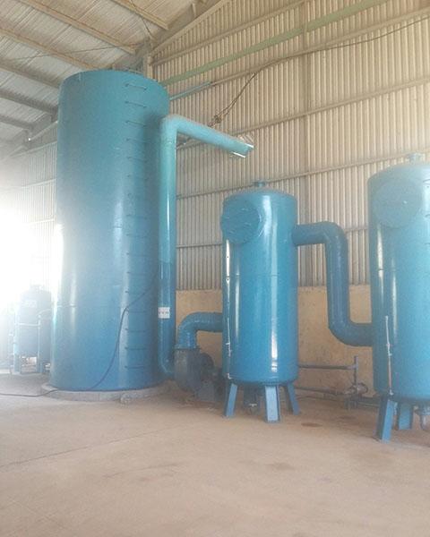 Lắp đặt và cải tạo hệ thống khử mùi (nhà máy nước mắm Nha Trang-Khánh Hòa)
