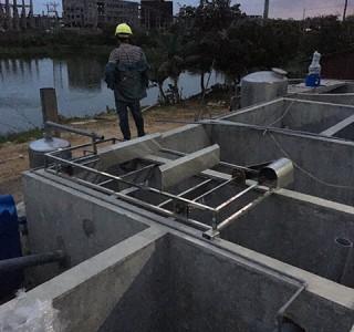 Công trình xử lý nước thải chế biển chả cá Thuận