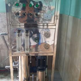 Cung cấp và lắp đặt hệ thống lọc nước tinh khiết đóng bình nhà anh Phú