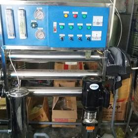 Cung cấp và lắp đặt hệ thống nước tinh khiết đóng bình, Hộ kinh doanh nhà anh Tuấn